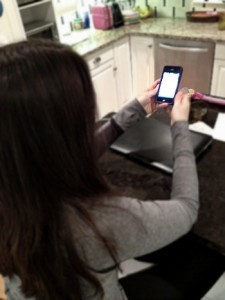 Cutting out the iPhone by Nina Badzin for Jewish Daily Forward